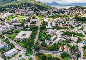 Vista aérea da UFSC - Campus Florianópolis - Foto: Jair Quint/Agecom/UFSC